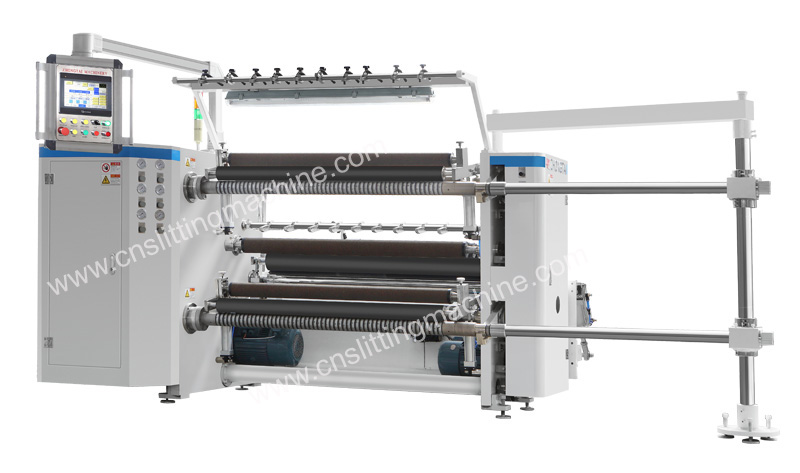 High Speed Slitting Rewinder Machine for Paper Roll,pvc film ZTM-D