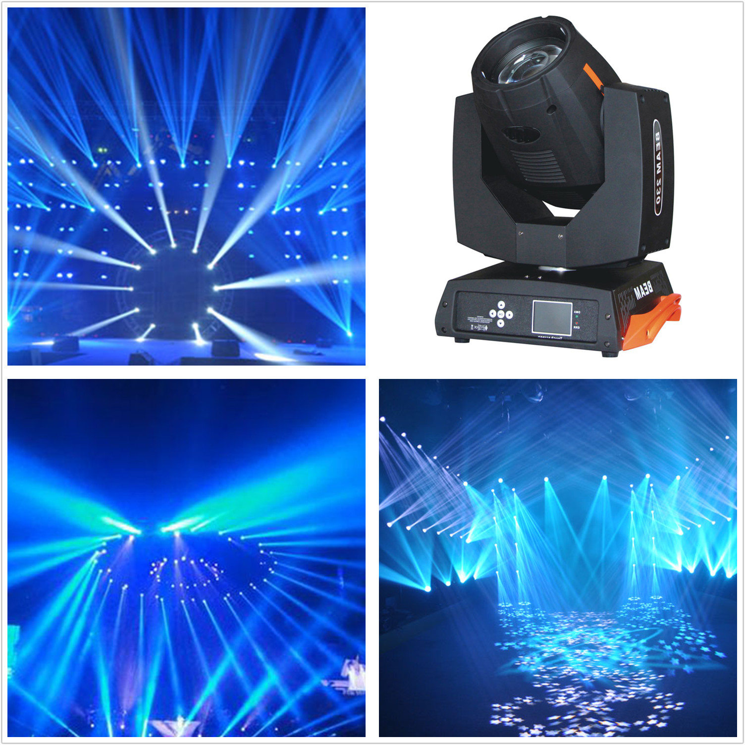 ROCCER Sharpy Beam 230W 7R Moving Head Light/ 230 Beam 7R Disco Lights for DJ Club Nightclub Party