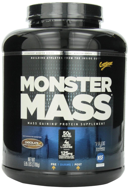 CytoSport Monster Mass, Chocolate, 5.95 Pound