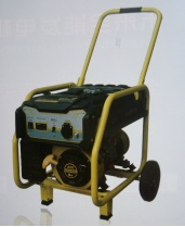 3.5KW Gasoline generator sets (With recoil start+Single phase+wheel and handles)