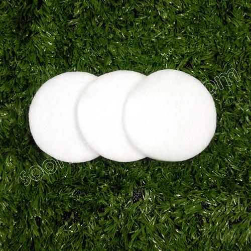 Truncated cotton pad