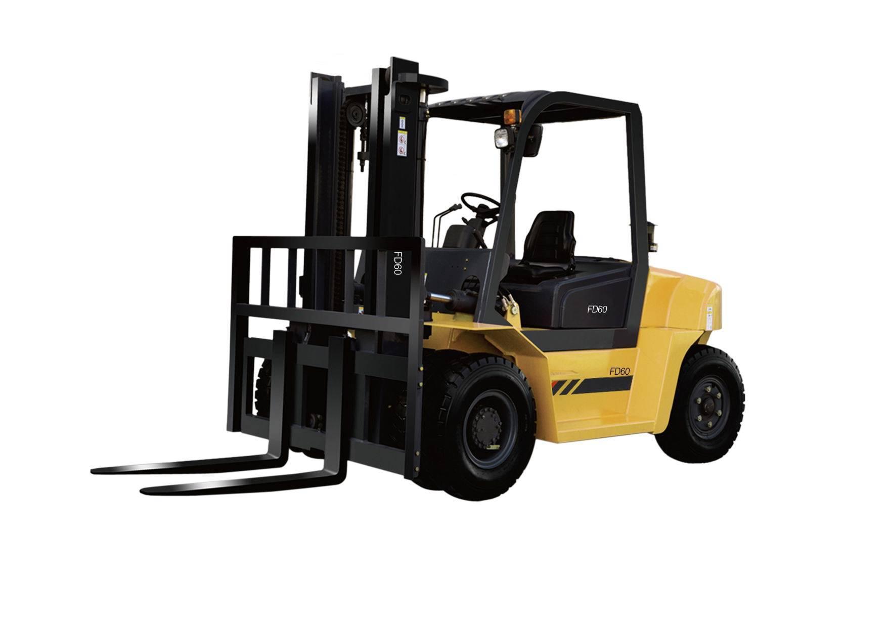 Diesel Forklift with Optional Isuzu C240PKJ-30 Engine