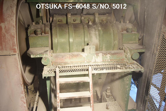 "USED ""OTSUKA"" MODEL FS-6048 (60"" X 48"") SINGLE TOGGLE JAW CRUSHER S/NO. 5012"