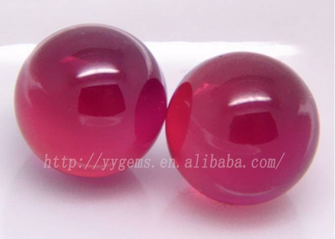 8mm 5# Corundum Ruby Ball Gemstone