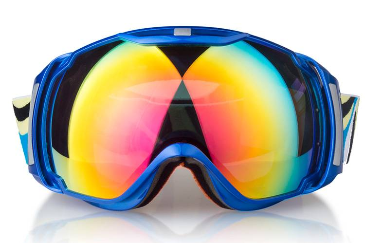 big size anti-fog safety goggles for skiing