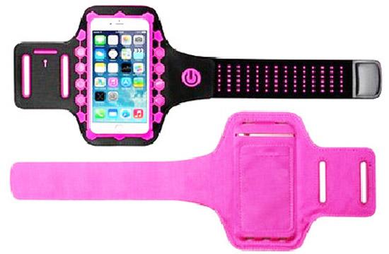 Fashion Led Sports Armband Case For Iphonex Xs