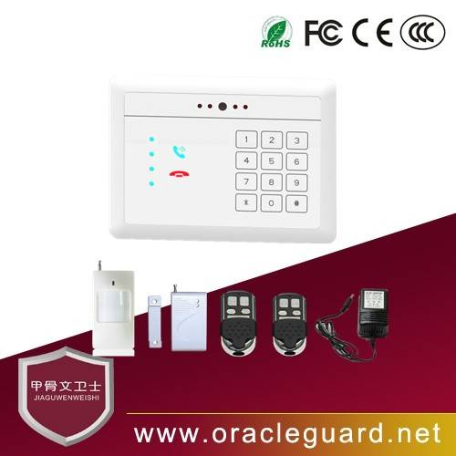 JGW-1103CP Network video alarm wifi home alarm system support Andriod IOS app smart intelligent home