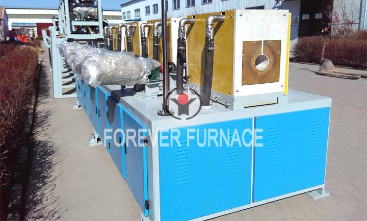 Steel pipe surface hardening machine