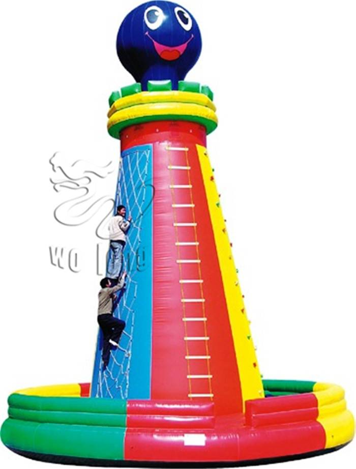Inflatable Octopus Climbing Wall/the inflatable sport games for best after-sell service
