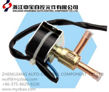 FDF series solenoid valve for refrigeration to control flow rate automatically