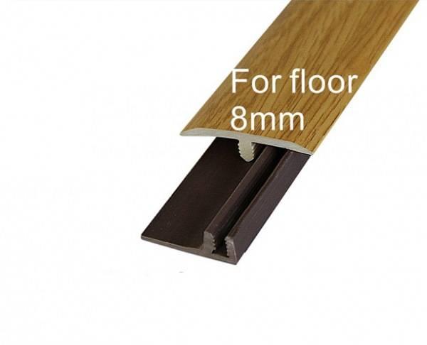 PVC T-molding edge