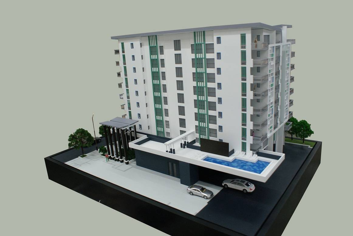 1:100 Scale Architectural Model, Residential Model Making