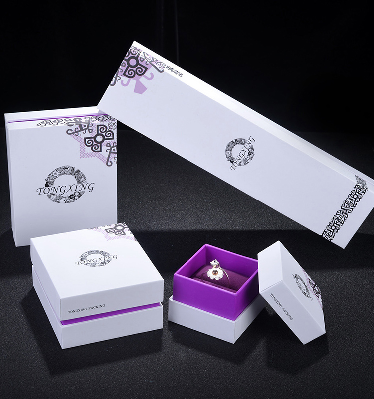 ZHIBO Fashion Environmental paper jewelry box