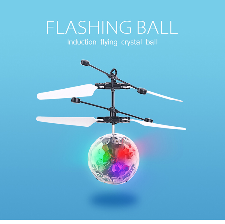 hand sensor infrared induction flying ball
