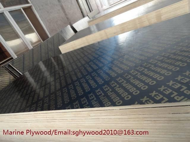 18mm waterproof marine plywood