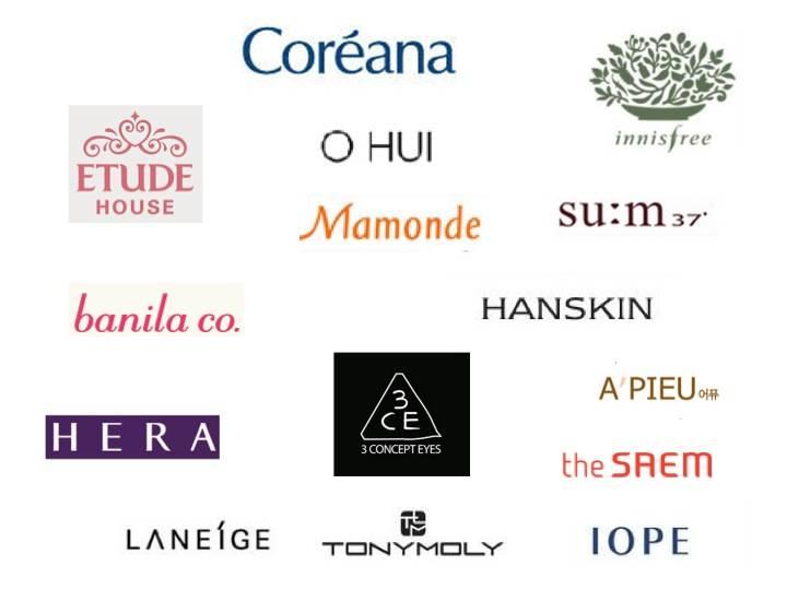 korean cosmetics, 3CE, Banila Co, Laneige, SUM;37