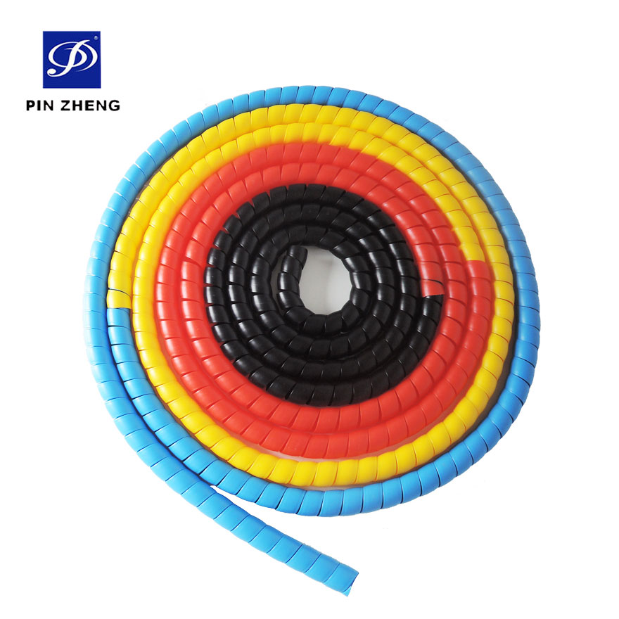plastic pp oil pipeline sleeve /cable spiral wrap