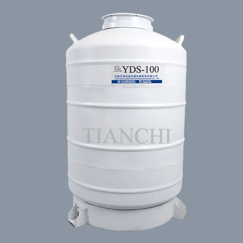 China liquid nitrogen gas cylinder 100L with cover price in CV