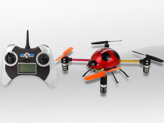 New Arrival 4-Axis 2.4G 4Channel Mini Ladybird RC UFO