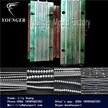 roller blinds curtains endless plastic ball chain mould