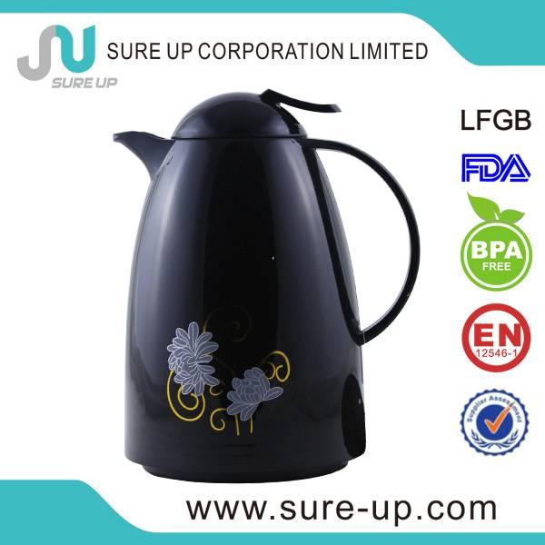 Kitchenware 1.0 litre glass lined vacuum coffee pots for sale (JGUN)