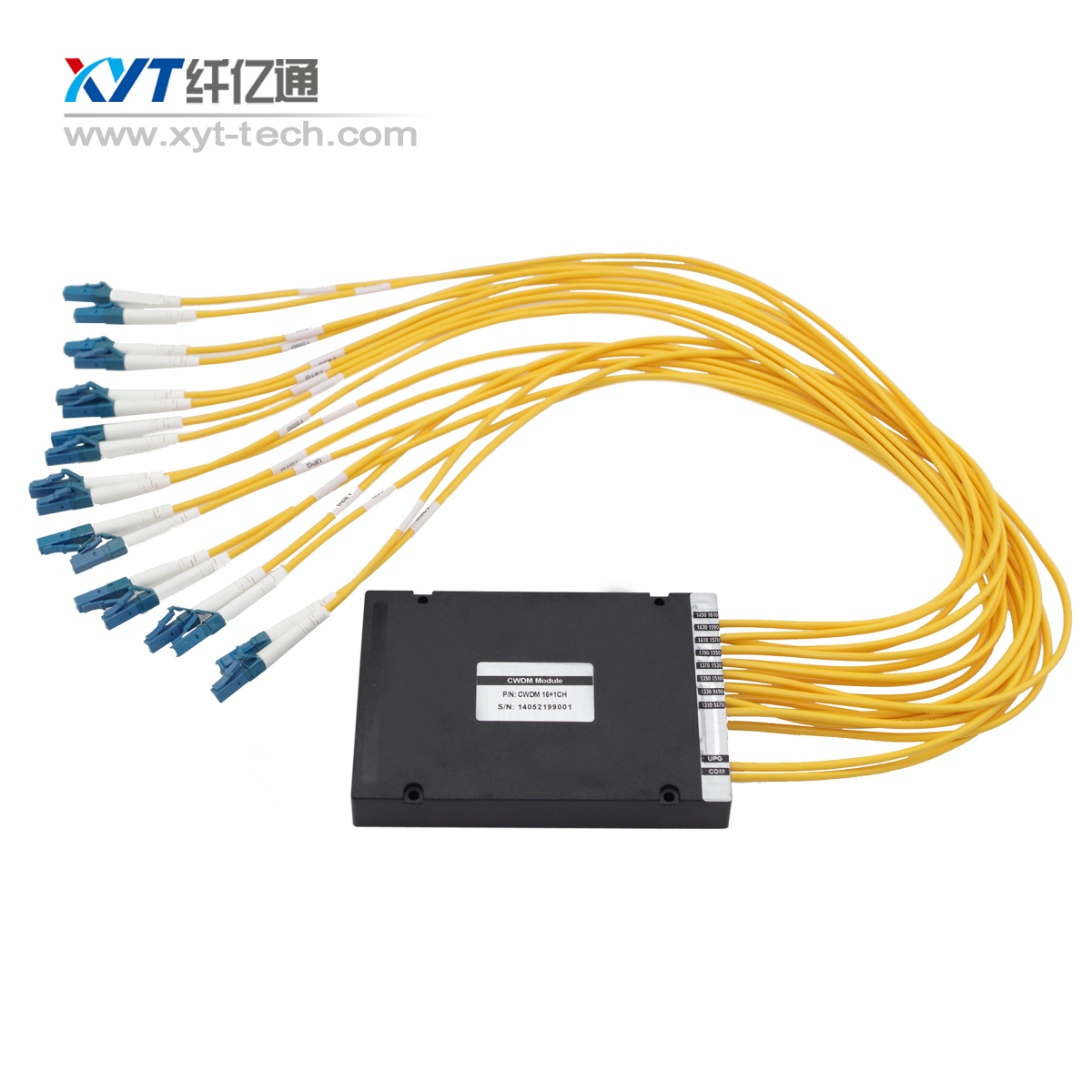 Factory best sale 8 channel CWDM MUX DEMUX ABS type cwdm multiplexer