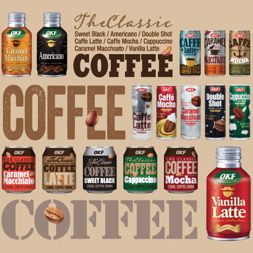 OKF Coffee Series (Coffee Drink)