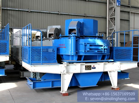 VSI sand making machine vertical shaft impact crusher