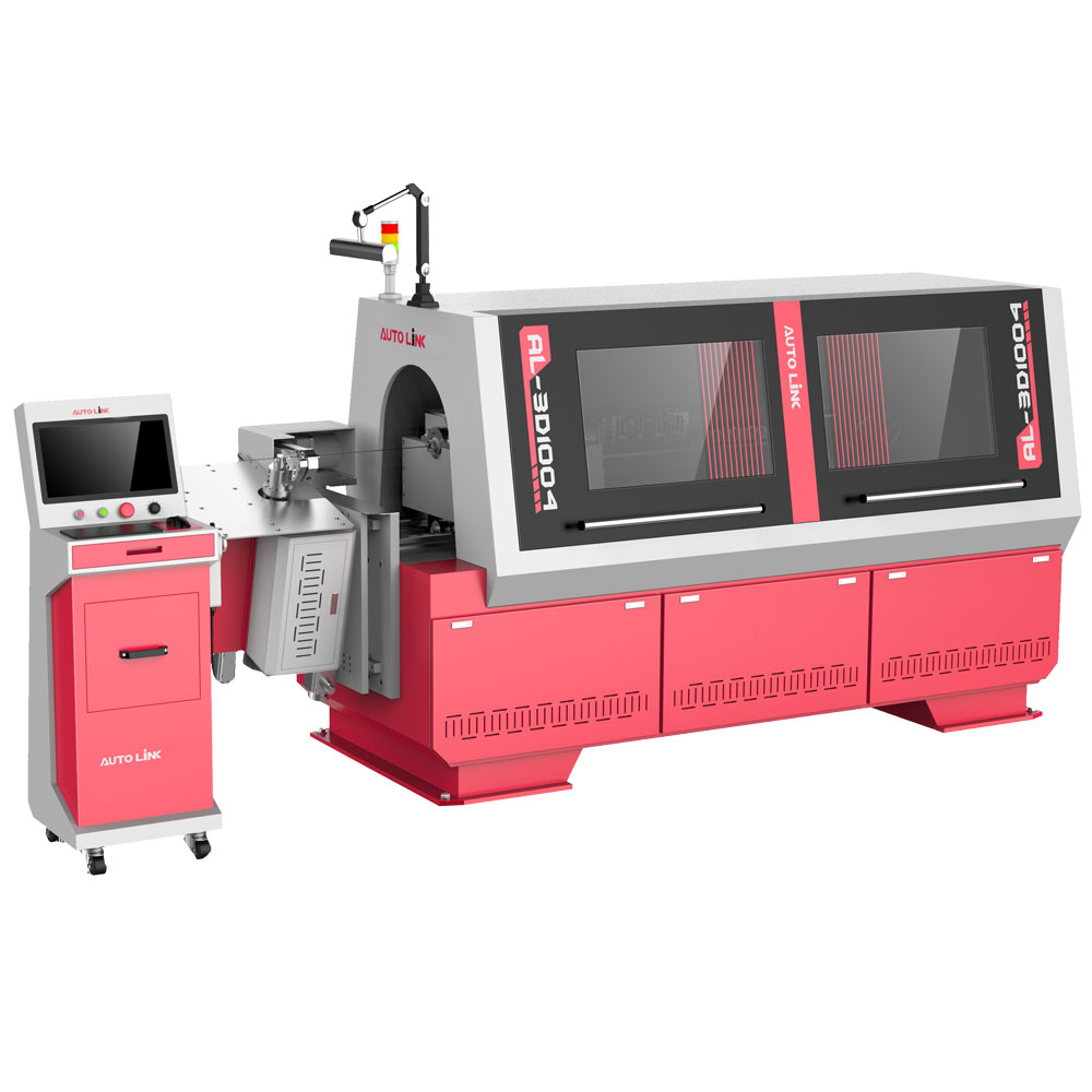3D CNC 10 axis wire bending machine wire forming machine