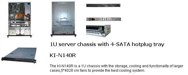 1u rackmount chassis,server case