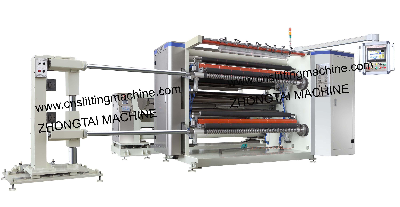 PLC High Speed Slitter Rewinder Machine ZTM-K