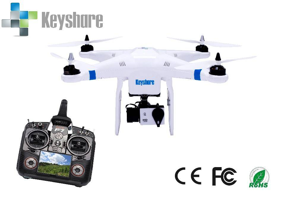 Quadcopter 2.4G 7CH 4 axis remote control RC quadcopter helicopter and drone with 1080P 30fps camera