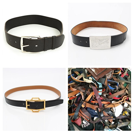 used belt leather belt used clothes sale high quality second hand clothing