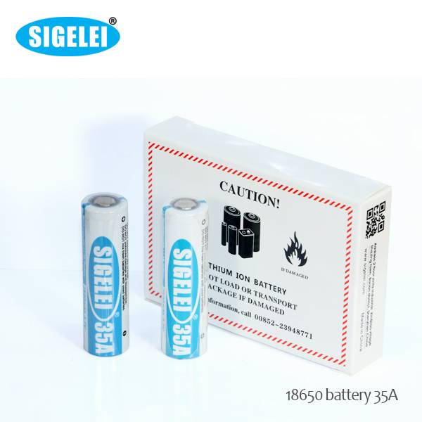 Sigelei 18650 2500mAh 35A 3.7V high drain rechargeable battery 18650 battery for Sigelei TC mod!