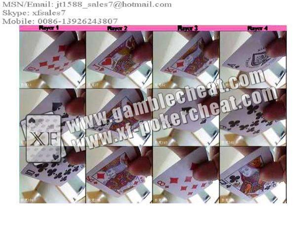XF Poker Suit Scanning Software/poker analyzer/poker cheat/contact lens/infrared lens/poker scanner