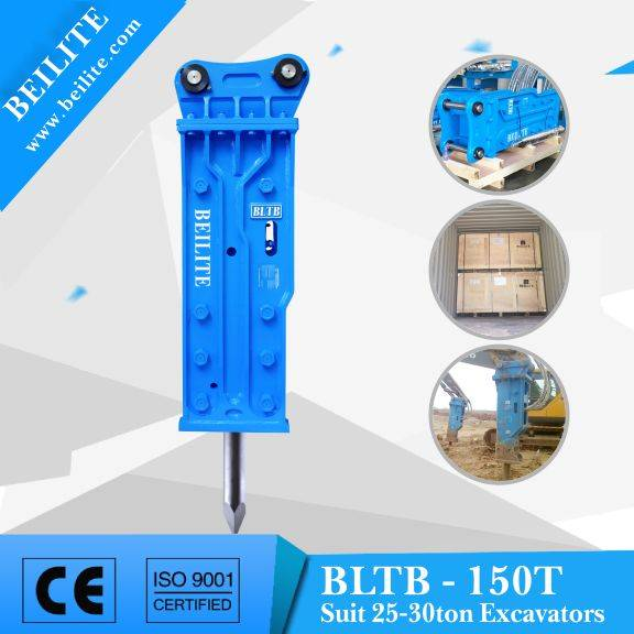 With ISO9001 certificate 150mm chisel hydraulic breaker for mining machinery and equipment