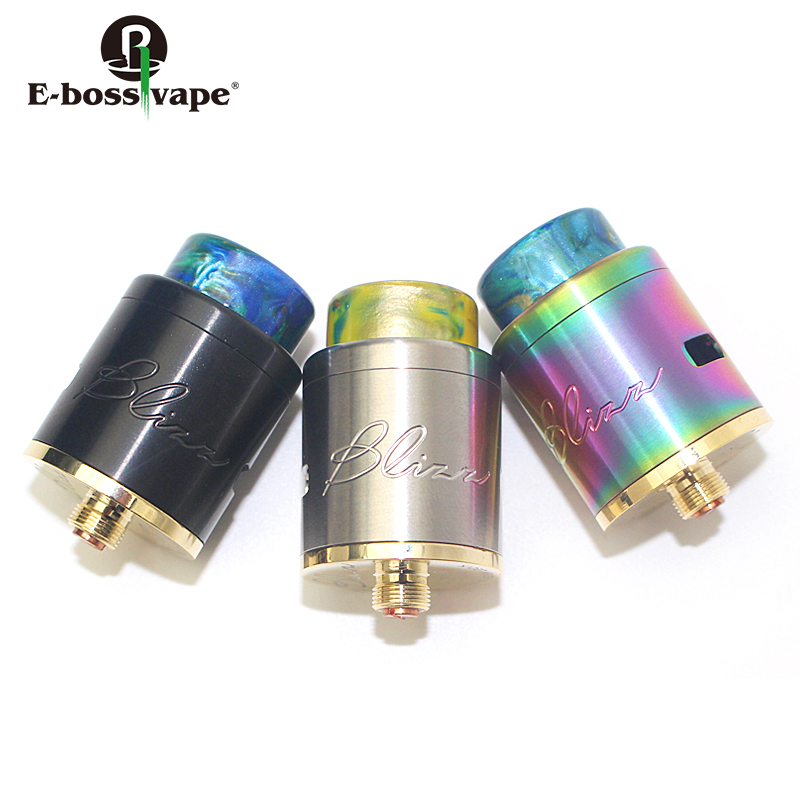Manufacturer Price Fashion rda atomizer big wires holes Dual post Blizz RDA for sale
