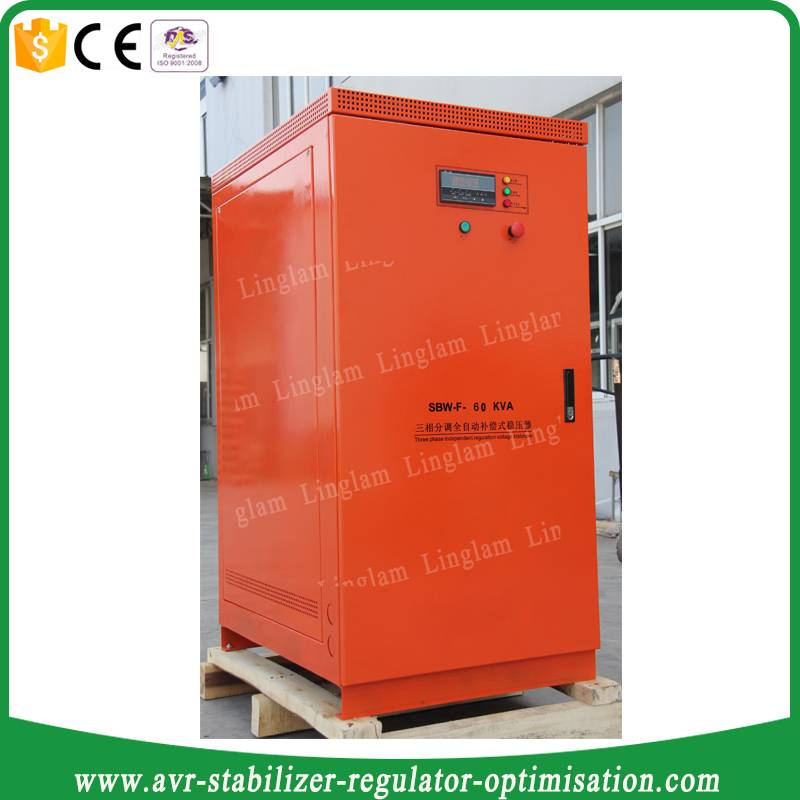60kva 3 phase voltage stabilizer