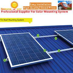 High-quality Sloped Metal Solar Roof PV Mounting Systems