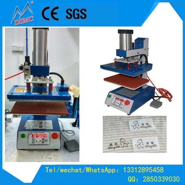 guangzhou hot selling mini pneumatic phonecase garments notebook printing transfer machine sale