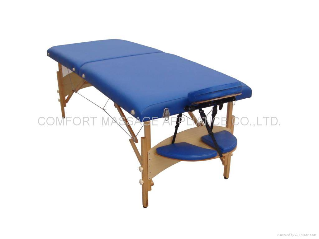 New-Chic, comfortable  wooden massage table MT-006WS