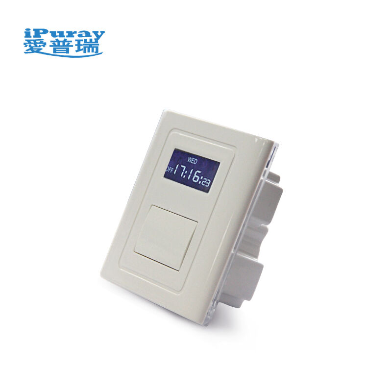 Keypad Control One Gang Manual/Auto on off Timer Switch