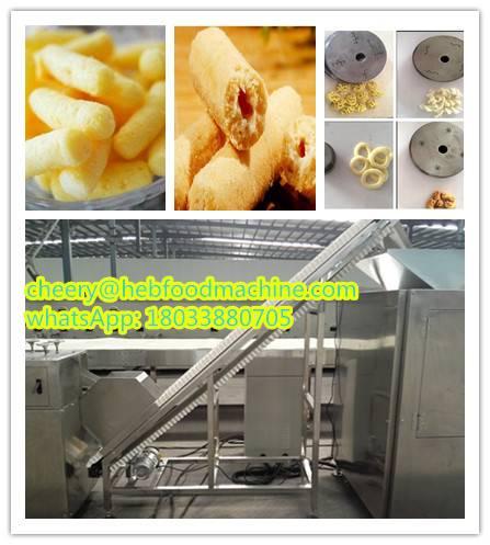 food factory cheap wholesale customized puffed food machine