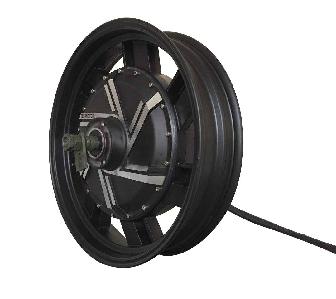 17inch 8000W Electric Motorcycle Hub Motor