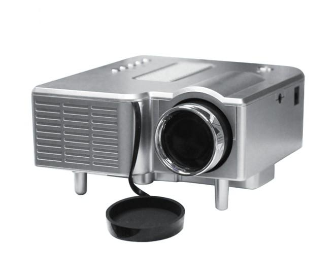 Portable DIY HD Mini LED Home Theater Projector with HDMI
