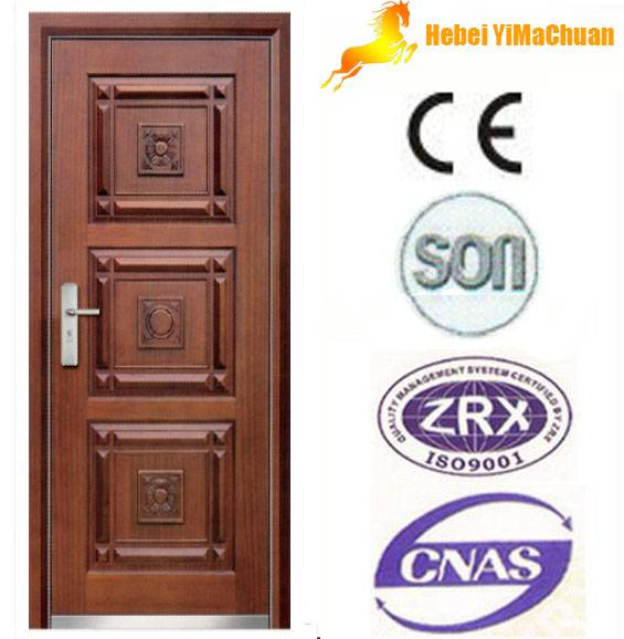 Armored door hot sale in China