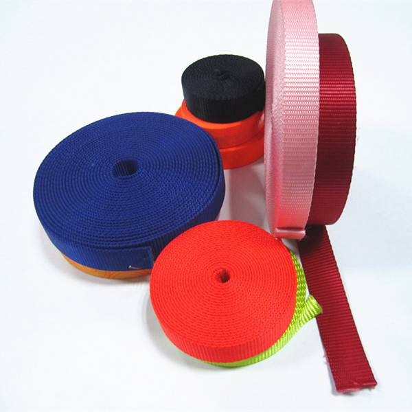 25mm colorful Nylon webbing for backpack strap