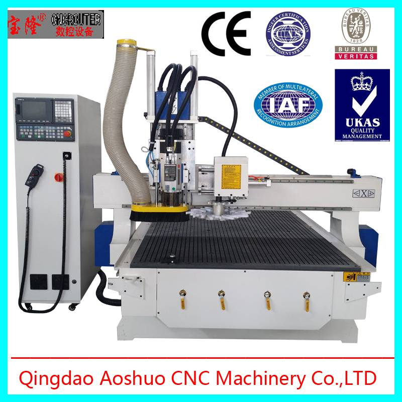 Hot sale! Auto tool changer 8 tools multicam cnc router for wooden industry