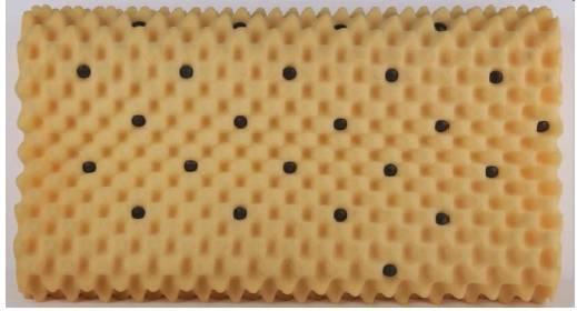 Wave magnet massage pillows