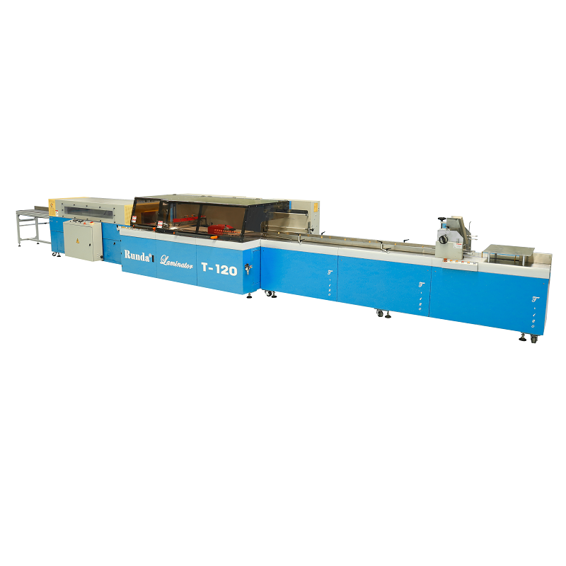 T-120 High speed shrink wrapping machine for books